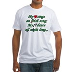 IRISH SONG Fitted T-Shirt