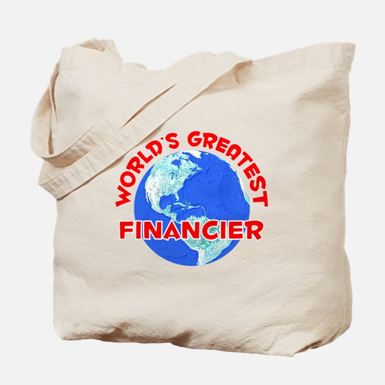 World's Greatest Finan.. (F) Tote Bag