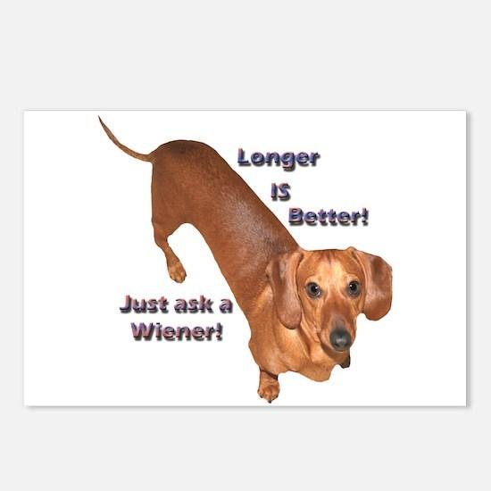 Longer Wiener Postcards (Package of 8)