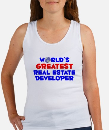 World's Greatest Real .. (A) Women's Tank Top