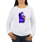 KUUKUU Women's Long Sleeve T-Shirt