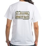 40-oz Strikes Back - White T-Shirt