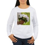 Wedding Bouquet Photo Women's Long Sleeve T-Shirt