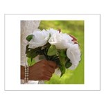 Wedding Bouquet Photo Small Poster