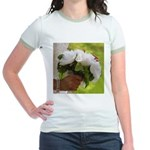 Wedding Bouquet Photo Jr. Ringer T-Shirt