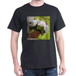 Wedding Bouquet Photo Dark T-Shirt