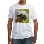 Wedding Bouquet Photo Fitted T-Shirt