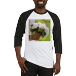 Wedding Bouquet Photo Baseball Jersey