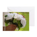 Wedding Bouquet Photo Greeting Cards (Pk of 10)
