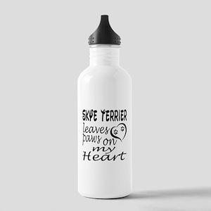 Skye Terrier Dog Leave Stainless Water Bottle 1.0L