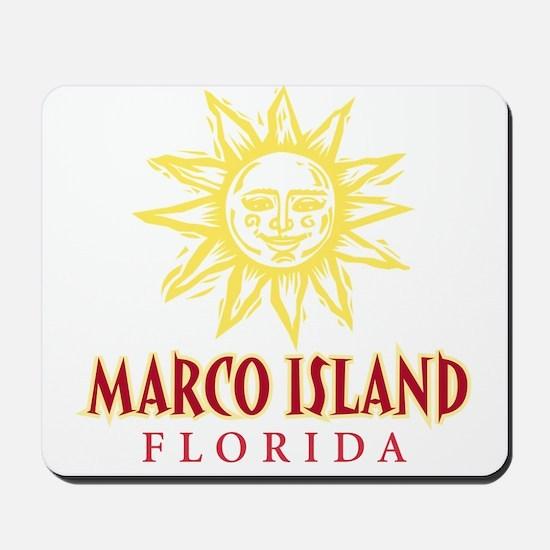 Marco Island Sun - Mousepad