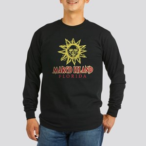 Marco Island Sun - Long Sleeve Dark T-Shirt