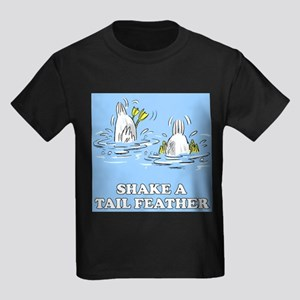 Shake A Tail Feather Ash Grey T-Shirt