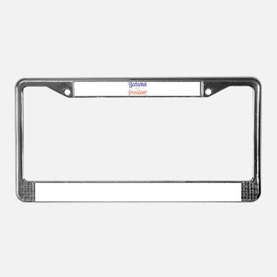 Beelzebub for President License Plate Frame