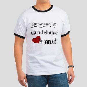 Guadeloupe Loves Me Ringer T