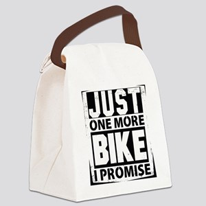 Just One More Bike I Promise Canvas Lunch Bag