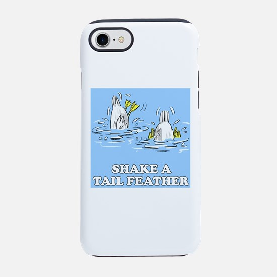 Shake a Tail Feather iPhone 8/7 Tough Case