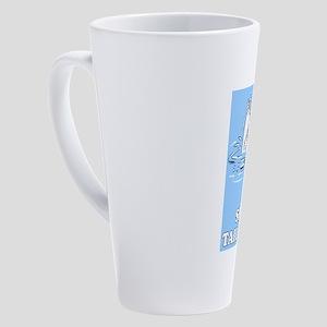 Shake a Tail Feather 17 oz Latte Mug