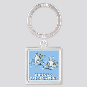 Shake a Tail Feather Keychains