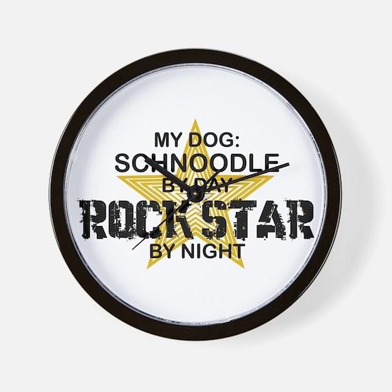Schnoodle RockStar Wall Clock