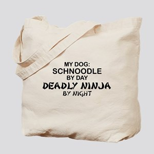 Schnoodle Deadly Ninja Tote Bag