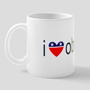 ::: I Heart Obama ::: Mug