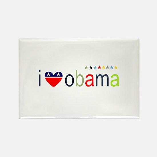 ::: I Heart Obama ::: Rectangle Magnet