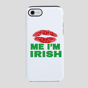 Kiss Me I'm Irish iPhone 8/7 Tough Case