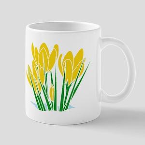 March Flowers Mugs