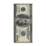 100 Dollar Bill Beach Towel