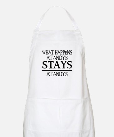 STAYS AT ANDY'S BBQ Apron