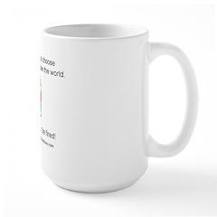 15-year-old Large Mug