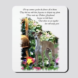 Italian Greyhound Art Mousepad