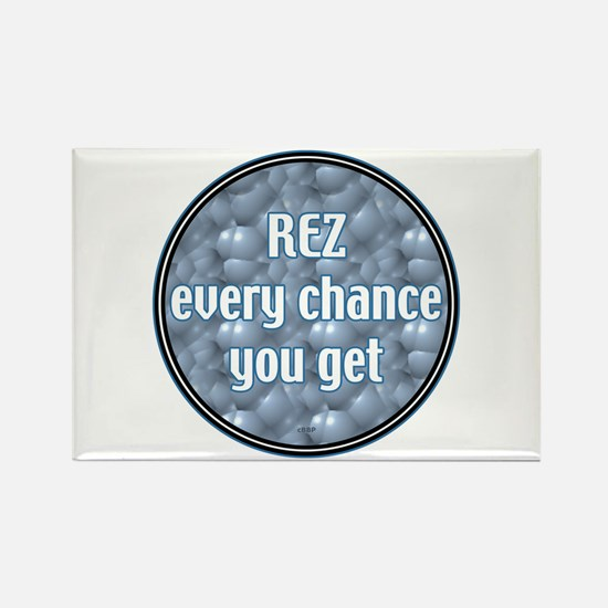 Rez Rectangle Magnet
