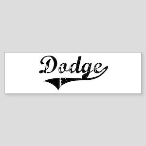 Dodge (vintage) Bumper Sticker