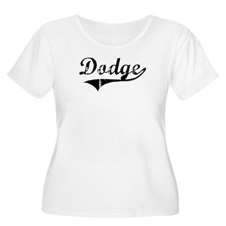Dodge (vintage) Women's Plus Size Scoop Neck T-Shi