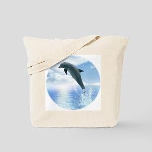Daybreak Dolphin Tote Bag