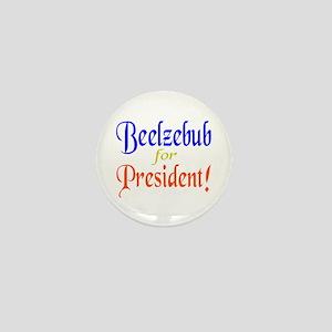 Beelzebub for President Mini Button