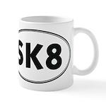 """""""Sk8 """" Mug"""