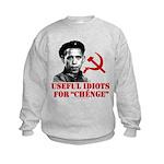 Ché Obama Useful Idiots Kids Sweatshirt