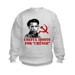 Ché Obama Useful Idiots Kids Sweatshirt