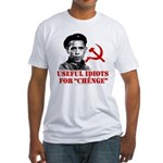Ché Obama Useful Idiots Fitted T-Shirt