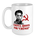 Ché Obama Useful Idiots Large Mug