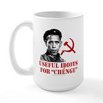 Ché Obama Useful Idiots Large Mug