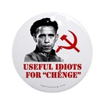 Ché Obama Useful Idiots Ornament (Round)