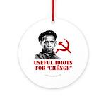 Ché Obama Useful Idiots Ornament (Round)