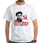 Ché Obama Useful Idiots White T-Shirt