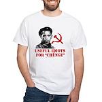Ché Obama Useful Idiots White T-Shirt