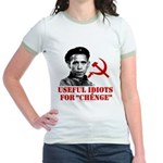 Ché Obama Useful Idiots Jr. Ringer T-Shirt