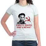 Ché Obama Useful Idiots Jr. Ringer T-Shirt